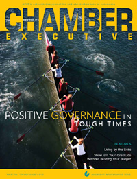 Bannon Communications President and CEO Shawn Bannon is Quoted in the Winter 2009 Issue of Chamber Executive Magazine