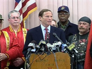 CT Attorney General Holds Press Conference Regarding Misrepresentation of his Military Record (Photo: CBS News)