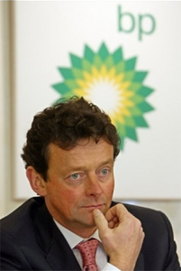 BP CEO Tony Hayward has been on the hotseat since an explosion at an offshore drilling site left a ruptured pipeline gushing thousands of barrels of oil into the Gulf of Mexico more than a month ago.