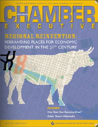 Chamber Executive Magazine -- Summer 2010 -- featuring a cover story by Bannon Communications President and CEO Shawn Bannon